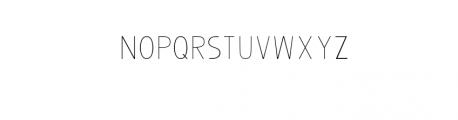 Bosque SansFont.otf Font LOWERCASE