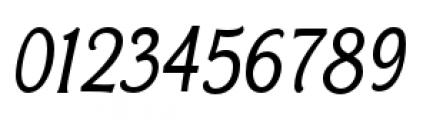 Bonobo Italic Font OTHER CHARS