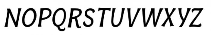 Bonobo Semi Bold Italic Font UPPERCASE