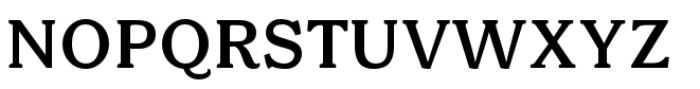 Bonobo Semi Bold Font UPPERCASE