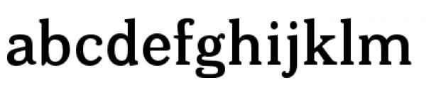 Bonobo Semi Bold Font LOWERCASE