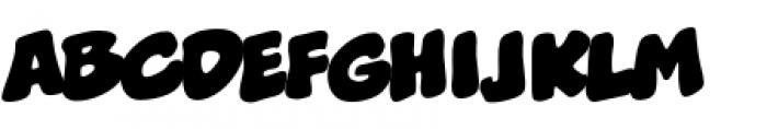 Boogers BB Regular Font UPPERCASE