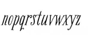 Bookeyed Jack Font LOWERCASE