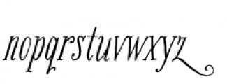 Bookeyed Suzanne Font LOWERCASE