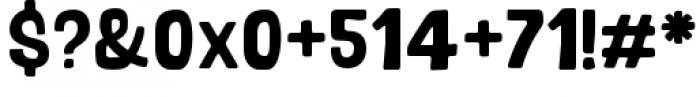 Bosque Regular Font OTHER CHARS