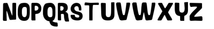 Bosque Regular Font UPPERCASE