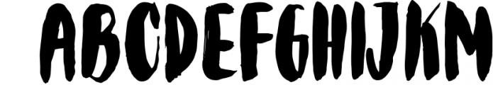 Bolonqui - handmade font duo 1 Font UPPERCASE