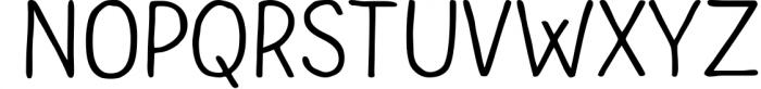 Bolonqui - handmade font duo Font UPPERCASE