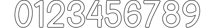 Bondan Typeface 3 Font OTHER CHARS