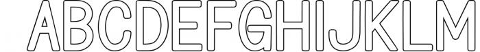 Bondan Typeface 3 Font LOWERCASE