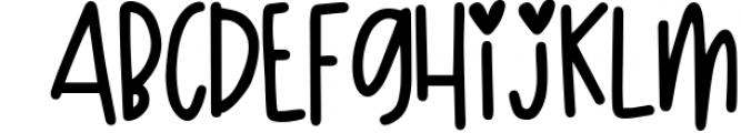 Boogie Down! Handlettered Sans Font Font LOWERCASE
