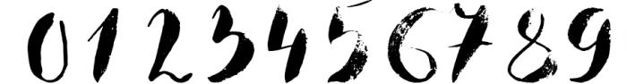 Boriska watercolor grunge font Font OTHER CHARS