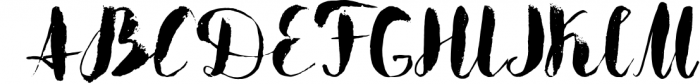 Boriska watercolor grunge font Font UPPERCASE