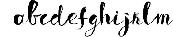 Boriska watercolor grunge font Font LOWERCASE
