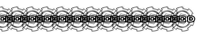 BOLT CUTTER Font LOWERCASE
