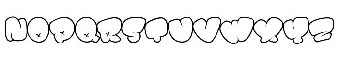 BOMB FONT Font LOWERCASE