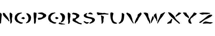 BOMBORA Font UPPERCASE