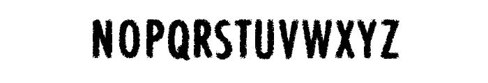 BON ViVER Font UPPERCASE