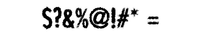 BON ViVEUR Font OTHER CHARS