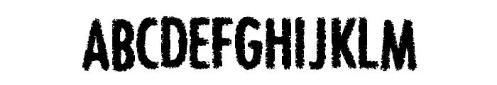 BON ViVEUR Font UPPERCASE