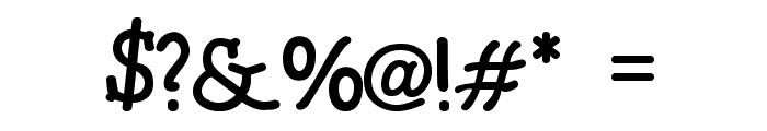 BONEBASTIC Font OTHER CHARS