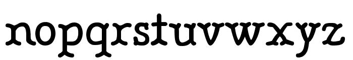 BONEBASTIC Font LOWERCASE