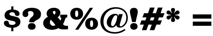 BOOKmanOpti-Bold Font OTHER CHARS