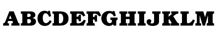 BOOKmanOpti-Bold Font UPPERCASE