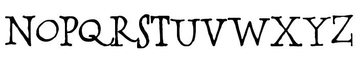 BOSSHOLE Font UPPERCASE