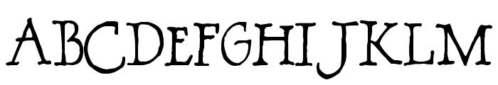 BOSSHOLE Font LOWERCASE