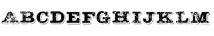 BOTASSUJAS Font UPPERCASE
