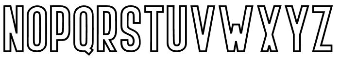 BOVEN 4 Font UPPERCASE