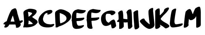 BoardMarker Font LOWERCASE