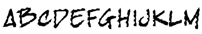 BobTag Font UPPERCASE