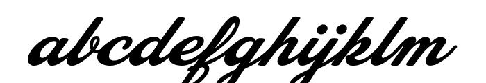Bobbers Personal Use Regular Font LOWERCASE