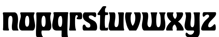 BobbiTheHippie Font LOWERCASE