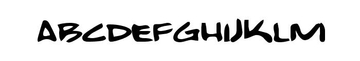 Bobcat Font LOWERCASE