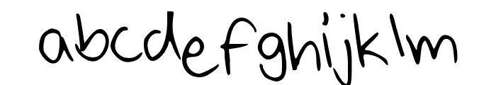 Bobito Font LOWERCASE