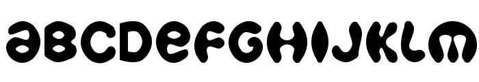 Bobo Font UPPERCASE