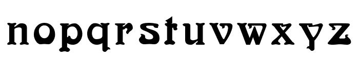 Bocklin Font LOWERCASE