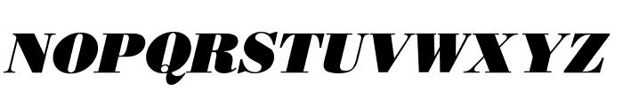 Boden Esperanto Kursiva Font UPPERCASE