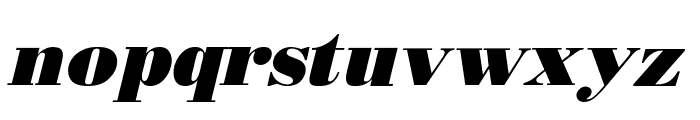 Boden Esperanto Kursiva Font LOWERCASE