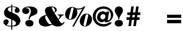 Boden Esperanto Font OTHER CHARS