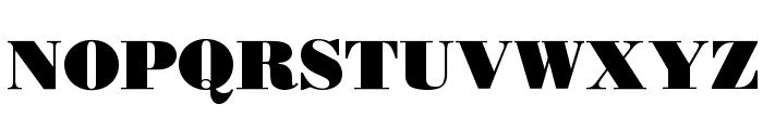 Boden Esperanto Font UPPERCASE