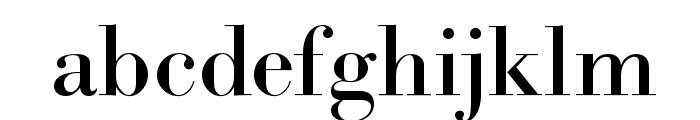 Bodidota Font LOWERCASE