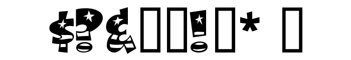 BodieMF Flag Font OTHER CHARS