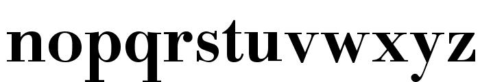 BodinSmall Bold Font LOWERCASE