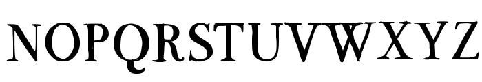 BodoFlo Font UPPERCASE