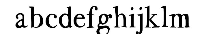 BodoFlo Font LOWERCASE