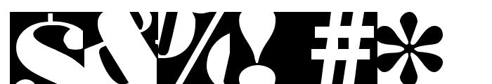 BodoblackSquares Font OTHER CHARS